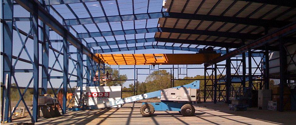 Texas Machine Warehouse Construction