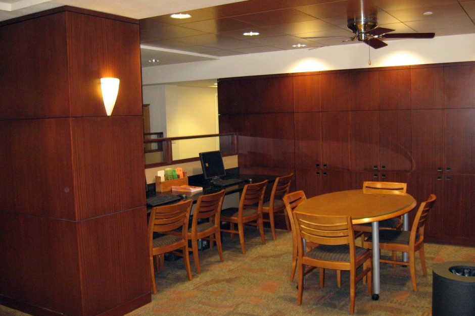 UT Lobby Research Area