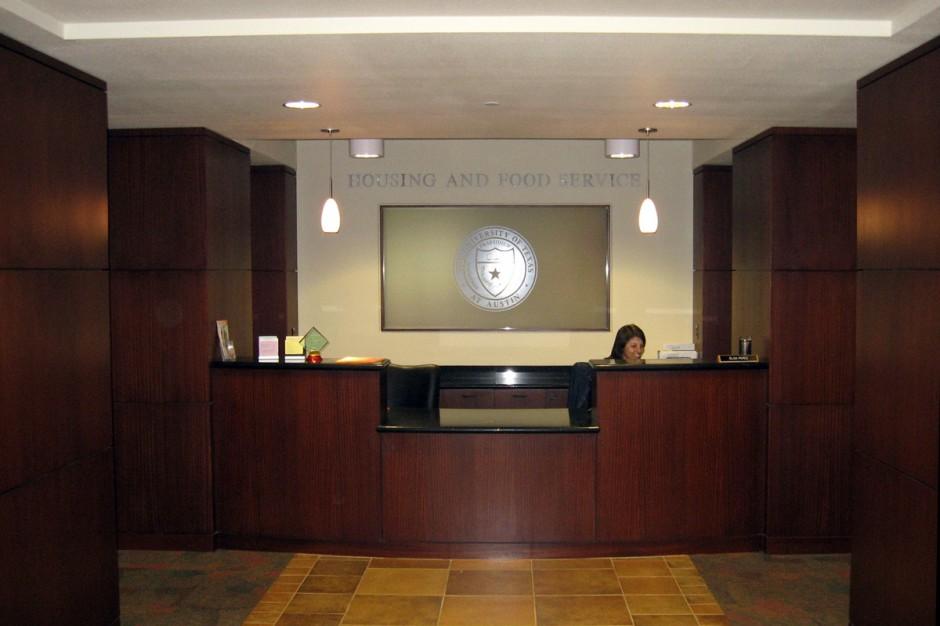 UT Lobby Reception Area